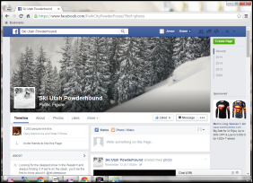 Ski Utah Powderhound Facebook Screengrab