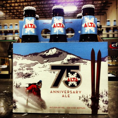 Alta 75th Anniversary Ale 6 Pack